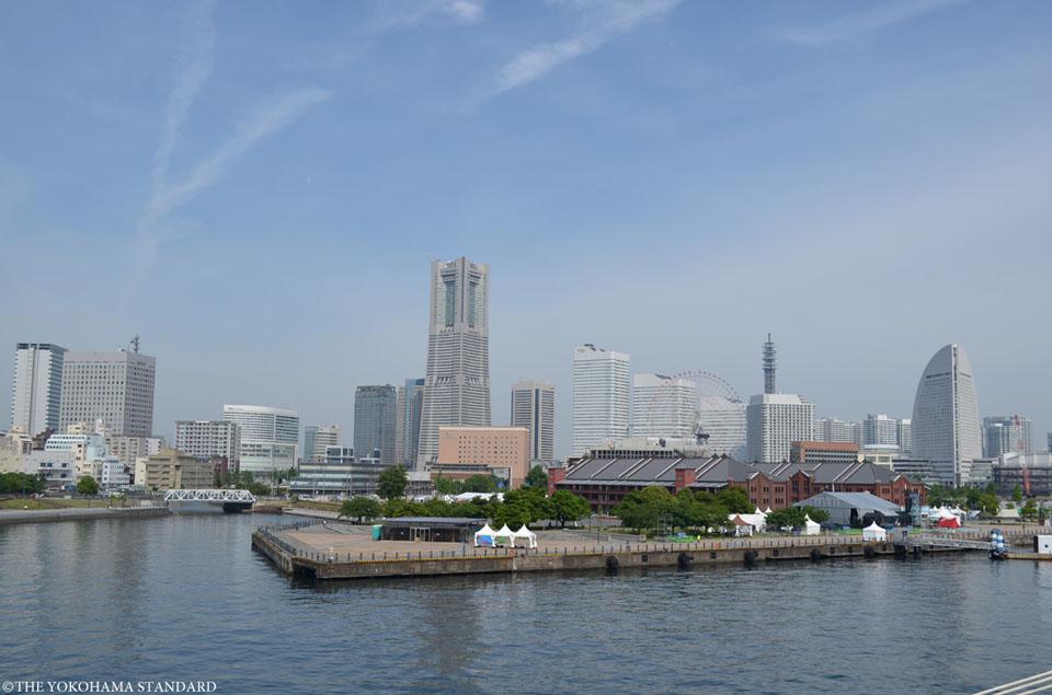 大さん橋から望むみなとみらい-THE YOKOHAMA STANDARD