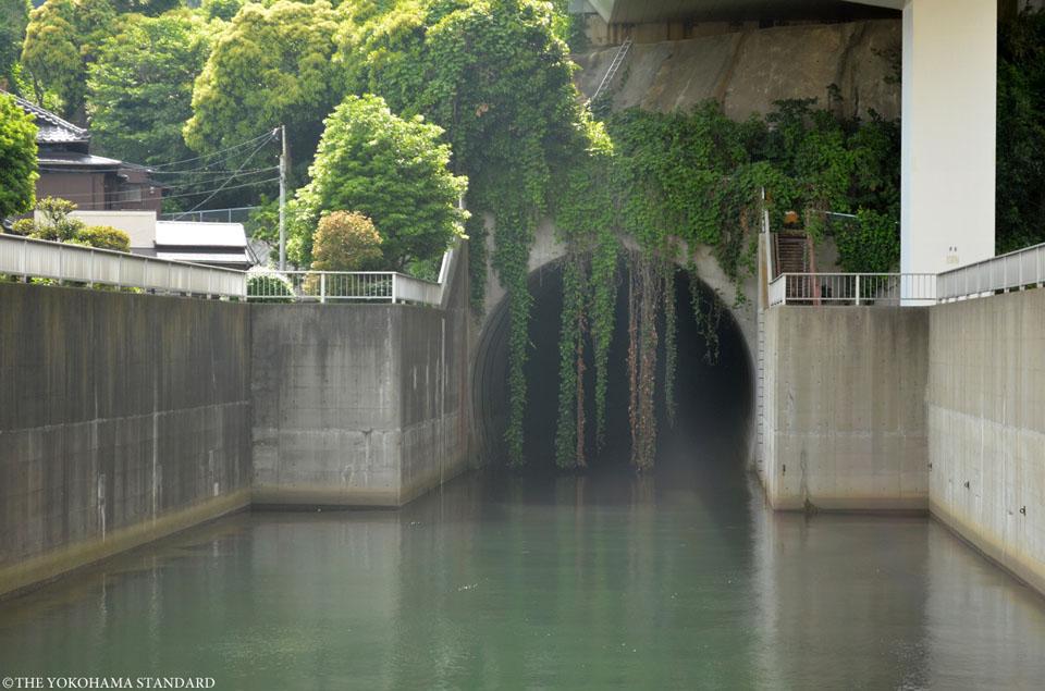 大岡川分水路放流口-THE YOKOHAMA STANDARD