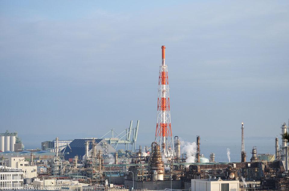 松風閣からの眺め-THE YOKOHAMA STANDARD