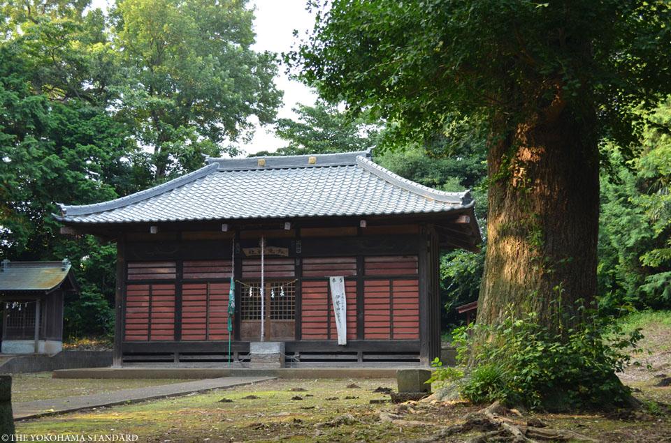 下飯田左馬神社2-THE YOKOHAMA STANDARD