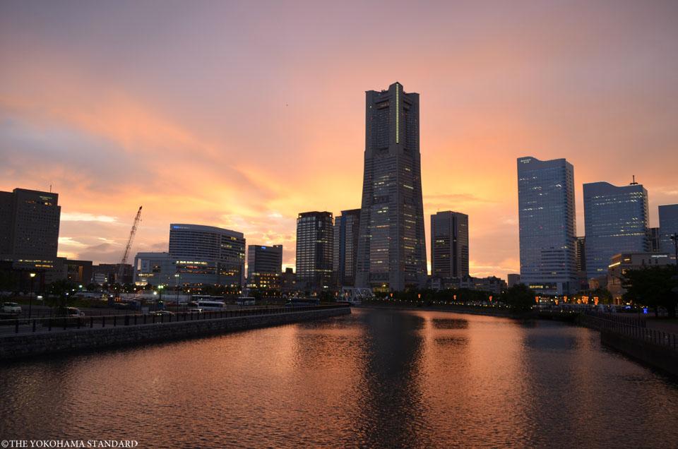 万国橋からの夕景-THE YOKOHAMA STANDARD