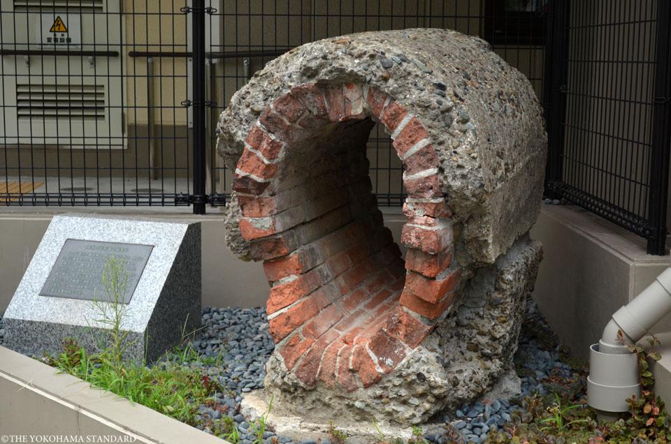 煉瓦つくりの下水管-THE YOKOHAMA STANDARD