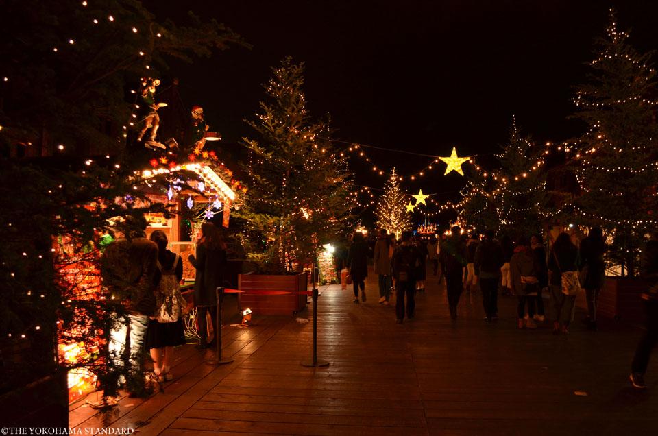 2015赤レンガクリスマスマーケット2-THE YOKOHAMA STANDARD