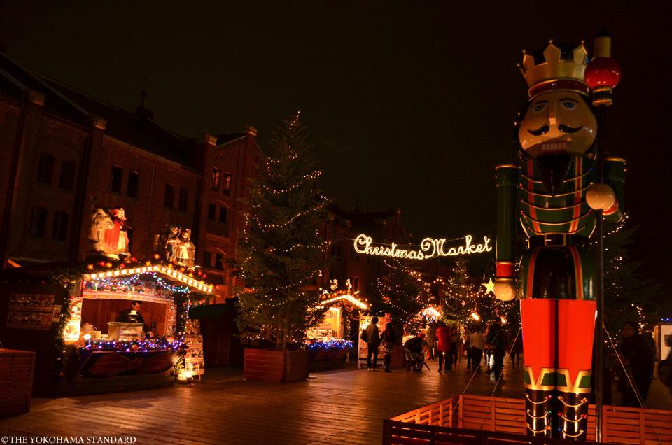 2015赤レンガクリスマスマーケット1-THE YOKOHAMA STANDARD