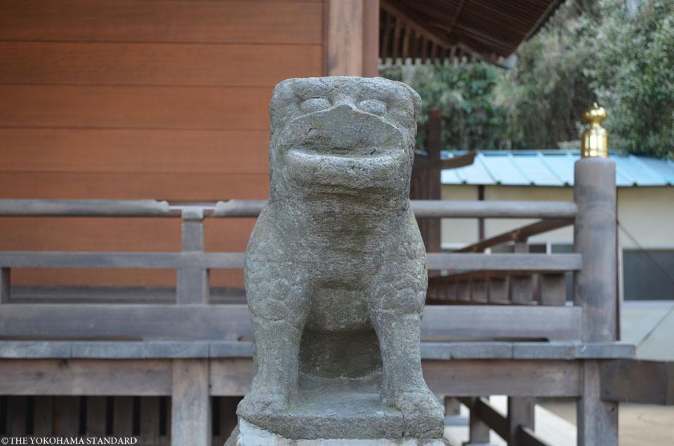 杉田八幡神社の狛犬2-THE YOKOHAMA STANDARD