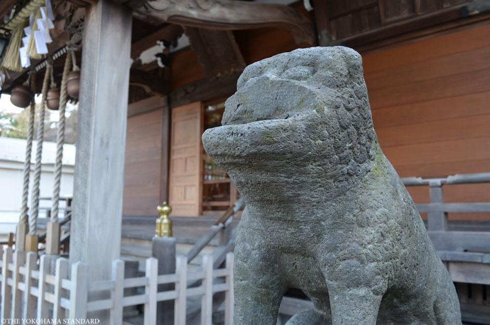 杉田八幡神社の狛犬3-THE YOKOHAMA STANDARD