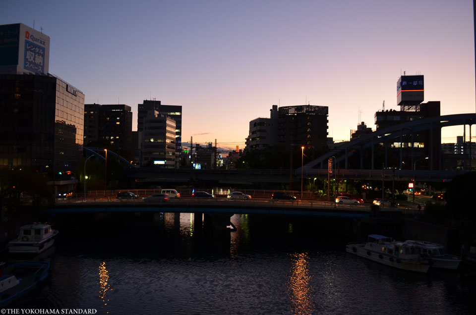 夕暮れの大江橋-THE YOKOHAMA STANDARD