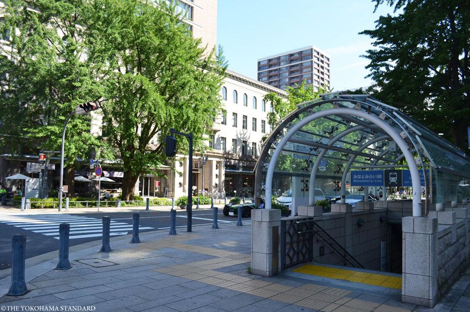 横浜の通り・日本大通り14-THE YOKOHAMA STANDARD