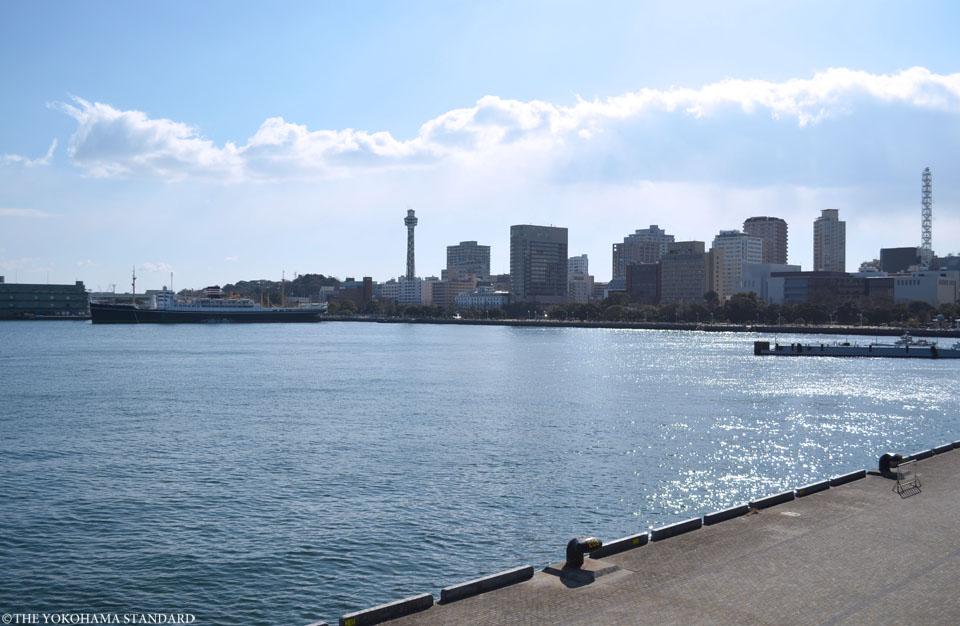 大さん橋から望む山下公園-THE YOKOHAMA STANDARD