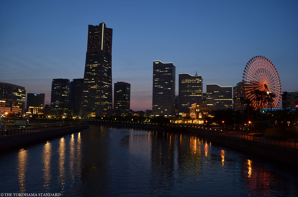 万国橋の夕景0503-THE YOKOHAMA STANDARD