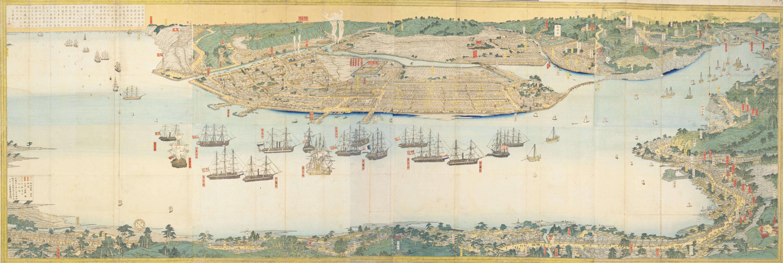 御開港横浜之全図-THE YOKOHAMA STANDARD