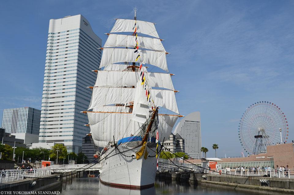 日本丸・総帆展帆3-THE YOKOHAMA STANDARD