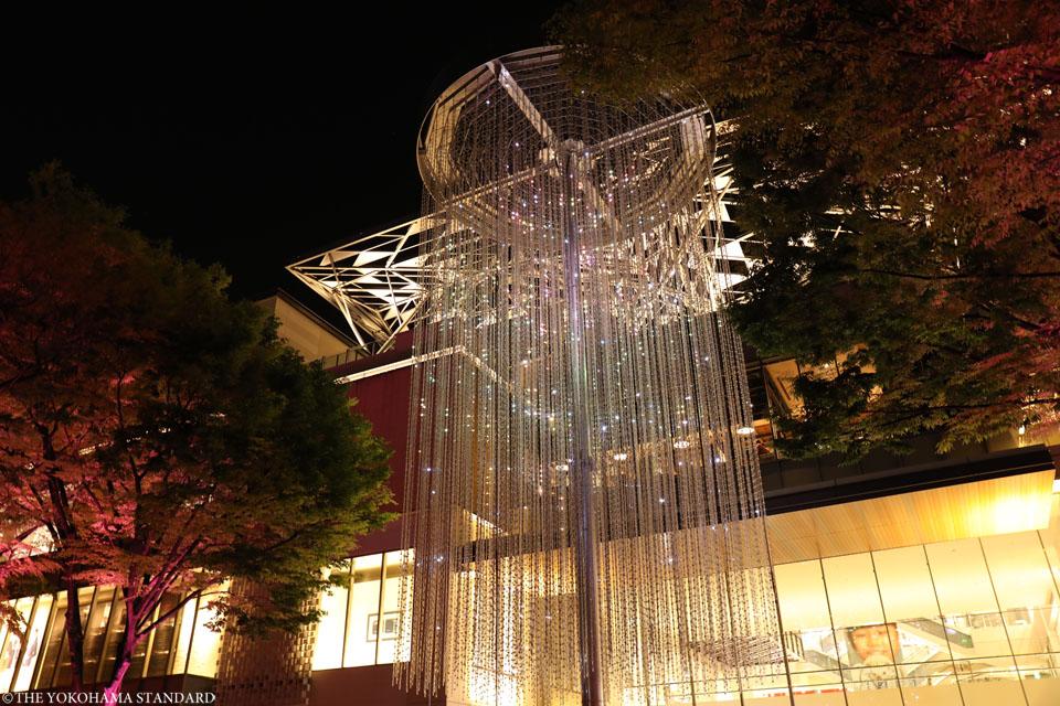夜のグランモール公園・緑化フェア3-THE YOKOHAMA STANDARD