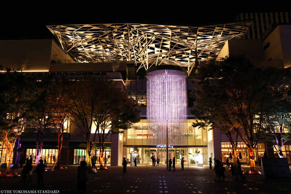 夜のグランモール公園・緑化フェア4-THE YOKOHAMA STANDARD